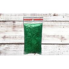 Глиттер зеленый. 10 г
